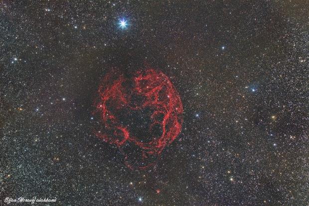 Simeis 147: Supernova Remnant,                                Bijan Moravej ala...