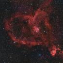 Heart Nebula HaRGB,                                John Willis