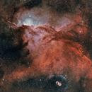 Fighting Dragons and their Egg  NGC 6188 NGC  NGC 6164-5,                                Nick Axaris