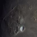 Moon in color- Aristarchus, Herododus, Vallis Schröterie,                                Uwe Meiling