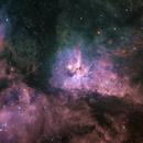 The Maelstom within Eta Carinae,                                Bruce Rohrlach