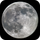 Moon 09.03.2020. Mosaic of 8 pictures. Illumination 99.8%.,                                Sergei Sankov
