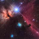 Horsehead and Flame Nebulae,                                Cory Schmitz