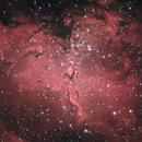 M16 - La nébuleuse de l'aigle,                                ZlochTeamAstro