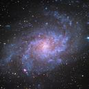 Triangulum galaxy,                                ViktorDobrenov