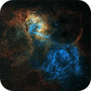 SH2-132 the Lion Nebula,                                astrotf
