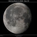 Waning Moon in LRGB - Day 19,                                Brice Blanc