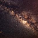 Milky Way, Mars, Saturn and Vesta,                                Globetrotter23