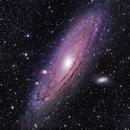 M31 in LRGB,                                CrestwoodSky