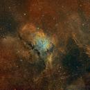 NGC 6820 Hubble palette,                                FrancescoTallarico