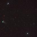 Cometa Catalina_M101&M51,                                J_Pelaez_aab