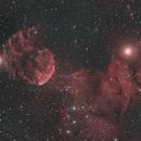"""IC443 """"Jellyfish"""",                                John Massey"""