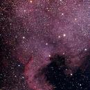 NGC7000 - Neubulosa de Norteamérica,                                PepeLopez