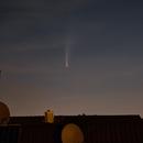 Comet Neowise over the rooftops,                                Franz Ferdinand