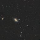 Bodes Nebulae with Evostar 72ED and a6000,                                  Nico Augustin