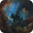 North America and Pelican Nebula mosaic & abstracts,                                Barry Wilson