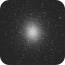 Nighthawk 100nm Image of Omega Centauri,                                Rod Kennedy