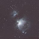 Orion and Running Man nebulae,                                Brendan Studds