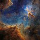The Heart Nebula,                                Manuel Huss