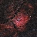 NGC6823 in HOO,                                Georges