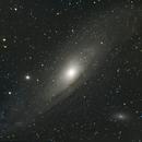 Andromeda (M31) da Roma città,                                Marco da Roma
