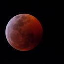 Eclipse de lune 21-01-2019,                                Le Mouellic Guillaume