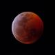 Eclipse de lune 21-01-2019,                                Le Mouellic Guill...