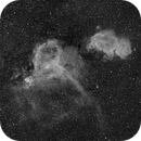 Heart and Soul in Ha - Deep Sky West Remote Observatory,                                Deep Sky West (Lloyd)