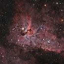 Eta Carina - Key hole,                                Rod771