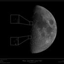 Lunar X & V - Waxing Gibbous - June 2018,                                Frank Schmitz