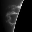 Explosive Prominence Nov 18, 2020,                                walkman