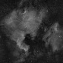 NGC 7000 H-Alpha 300mm,                                Sternwind