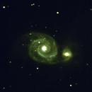 NGC 5194 - Galaxie du Tourbillon,                                Jean-Pierre BONNEFOY