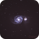 M51 Whirlpool Galaxy,                                breid