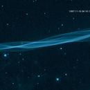 Cygnus Loop blast wave animated - HST,                                Leo Shatz