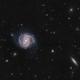 M100 & NGC4312,                                Blackstar60