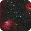 IC 405 and IC 410,                                mikebrous