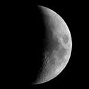 Moon 36% illuminated,                                Bernadov