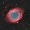 NGC 7293 - Helix Nebula LRGB,                                Mike Wiles
