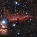 IC434 Horsehead & Flame Nebulae,                                KiwiAstro
