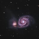 Whirlpool Galaxy,                                rooftopastro.com