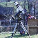 """115mm Triplet on Orion Atlas mount """"2020,march"""",                                Boštjan Zagradišnik"""