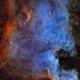 NGC 7000 - The North America Nebula,                                AllAboutRefractors
