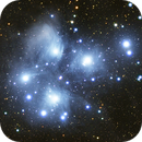 The Pleiades - M45,                                jhawn