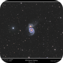 Messier 51, Whirlpool Galaxy,                                rflinn68