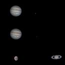 Trio of Planets,                                Dominique Callant