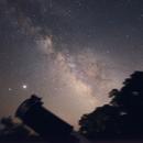 Milky Way from Orient Point, Long Island -- Shot 2,                                ks_observer