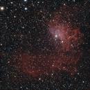 Flame Nebula broadband (WIP),                                Dan Kordella