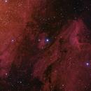 IC5070 2015 + NGC7000 mosaic,                                antares47110815