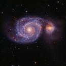 M51: Galaxia del Remolino,                                José Manuel Taverner Torres